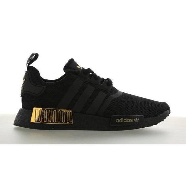 【跨店折後$5080】adidas Originals NMD R1 男款 全黑 金 復古 黑金 慢跑鞋 愛迪達 H67844
