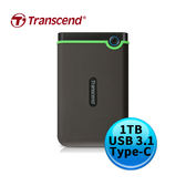 Transcend 創見 StoreJet 25MC 1TB 鐵灰 USB3.1 Type-C 2.5吋 外接硬碟 TS1TSJ25MC