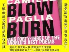 二手書博民逛書店Break罕見Blow Burn: Camille Paglia Reads Forty-three Of The