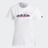 Adidas 女款 白色 CORE/NEO 休閒 短袖上衣 GL6843 【KAORACER】
