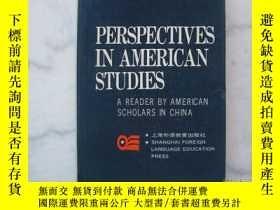 二手書博民逛書店PERSPECTIVES罕見IN AMERICAN STUDIE