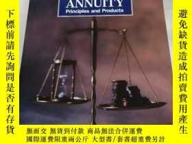 二手書博民逛書店ANNUITY罕見Principles and Products(年金原則和產品)Y258294 Second