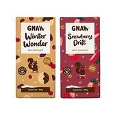Gnaw 果乾和餅乾牛奶/草莓 巧克力(冬季限定)100g 款式可選【小三美日】