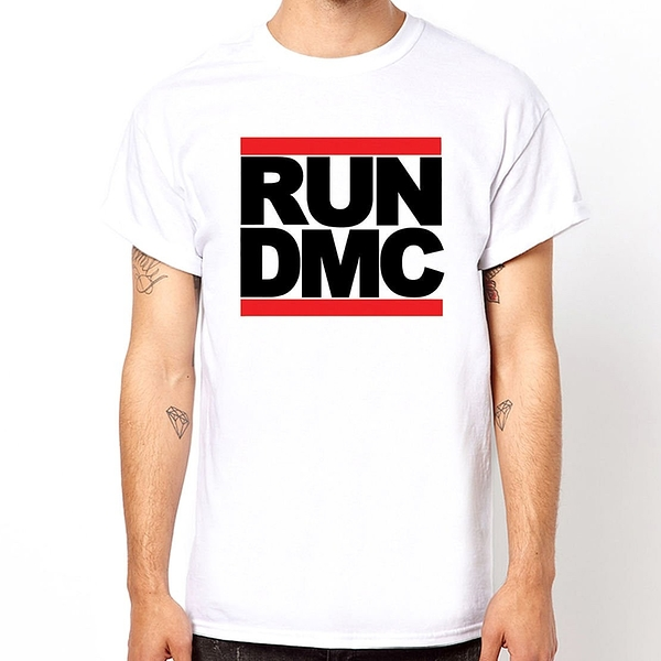 RUN DMC 短袖T恤-2色 rap hip hop 嘻哈 Jay Z Lil Wayne