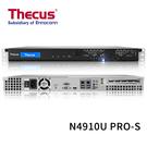 (客訂商品請來電詢問) Thecus 色卡司 N4910U PRO-S 4 Bay NAS 單電源 機架式 網路儲存伺服器