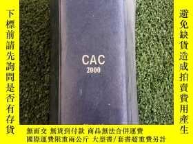 二手書博民逛書店化學摘要(CHEMICAL罕見ABSTRACTS)CAC2000