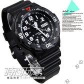 CASIO卡西歐MRW-200H-1B指針錶 黑面MRW-200H-1BVDF 數字時刻 黑色橡膠 47mm 男錶 學生錶 MRW-200H-1BV