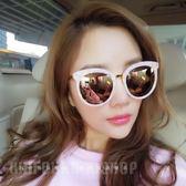眼鏡 韓國粉色女士太陽鏡墨鏡2017潮人圓臉眼鏡遮陽防曬