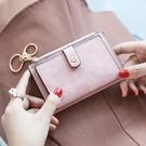 長夾錢包 零錢包女可愛簡約超薄小巧女式卡包零錢包一體硬幣包【快速出貨八折搶購】