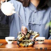 紫砂悟空茶寵擺件精品