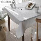 桌布 桌巾 防水桌布 餐桌巾 餐桌布 餐墊【G0103】水洗白防水桌布 韓國製 收納專科