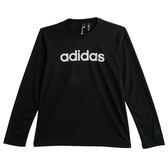 Adidas M LOGO LS T  長袖上衣 DH3986 男 健身 透氣 運動 休閒 新款 流行