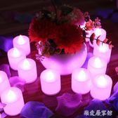 驚喜led電子蠟燭燈創意浪漫生日布置裝飾品  SQ9018『樂愛居家館』TW