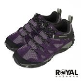 Merrell Alverstone 紫色 麂皮 防水 健行運動鞋 女款 NO.J0636【新竹皇家 ML034582】