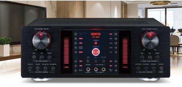 GUTS GT-800 大功率·大電流 數位迴音/殘響效果擴大機
