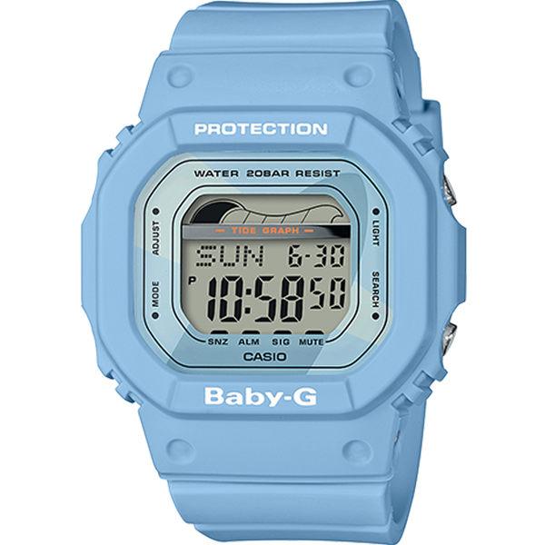CASIO卡西歐BABY-G夏季衝浪運動腕錶  BLX-560-2 藍