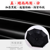 簡約雨傘女韓國小清新晴雨兩用太陽傘森系女神復古學生少女心折疊【居享優品】