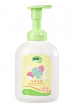【愛吾兒】Nac Nac 保濕泡泡-洗髮沐浴慕斯-500ml