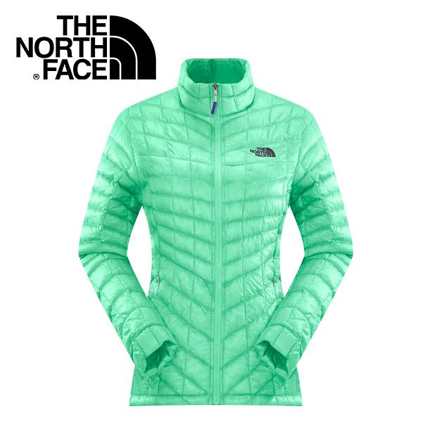 【The North Face 女 ThermoBall 暖魔球 保暖外套 浪花綠】 CUD5/暖魔球外套