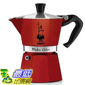 [104美國直購] Bialetti 6-Cup Espresso Coffee Maker 四色繽紛款 6杯份 經典摩卡壺
