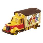 【震撼精品百貨】Winnie the Pooh 小熊維尼~迪士尼小汽車 夢幻小熊維尼電影宣傳車