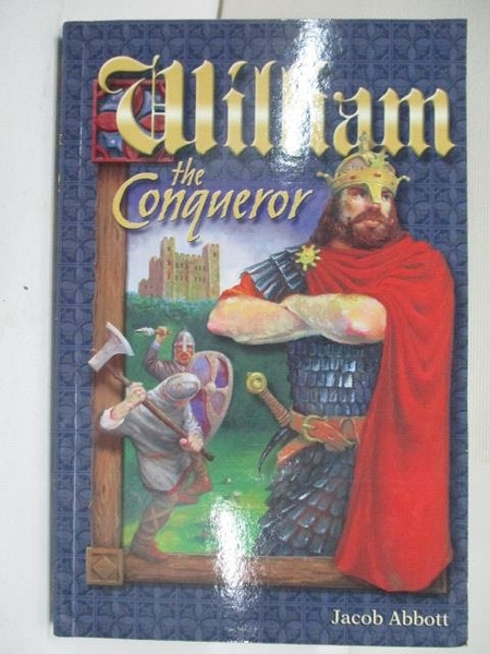 【書寶二手書T1/原文小說_BSP】William the Conqueror