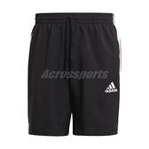 adidas 短褲 AEROREADY Essentials Shorts 黑 男 運動褲 三線 愛迪達 【ACS】 GL0022