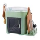 廚房碗架碗筷收納盒放碗碟瀝水收納架二層帶蓋家用置物架塑料碗柜 ATF 極有家