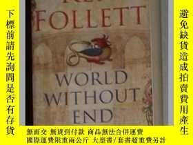 二手書博民逛書店英文原版罕見World Without End by Ken F