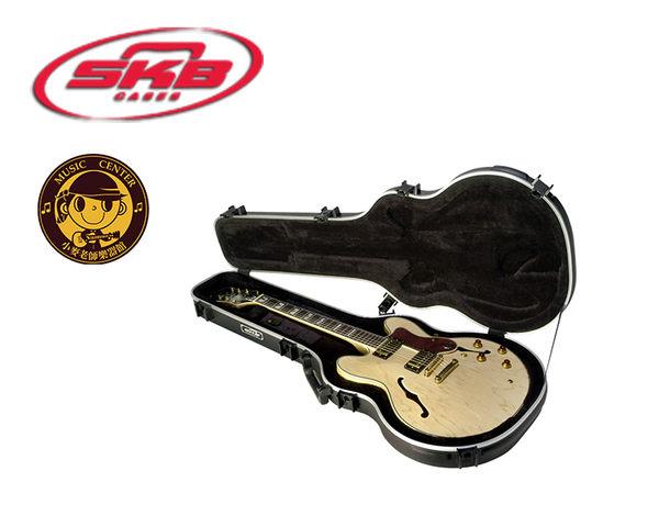 【小麥老師樂器館】SKB SKB-35 空心爵士電吉他專用硬盒【SKB35/case/335型】 貝斯 電吉他 吉他