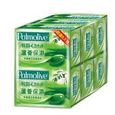 棕欖自然之選香皂-蘆薈保濕115g*6【愛買】
