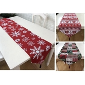 桌旗 熱銷新年圣誕節桌旗酒店紅色喜慶節日裝飾餐巾茶桌電視柜茶幾床旗