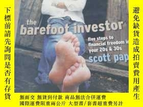 二手書博民逛書店the罕見barefoot investor赤腳的投資者Y276