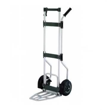 鋁製二輪收折手推車