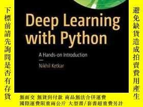 二手書博民逛書店Deep罕見Learning With Python-Python深度學習Y436638 Nikhil Ket