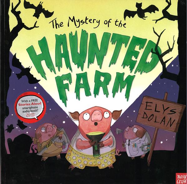 【麥克書店】THE MYSTERY OF THE HAUNTED FARM 平裝繪本《主題:幽默》內附QR code