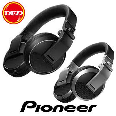 現貨 PIONEER 先鋒 HDJ-X5 專業級耳罩式 DJ 監聽耳機 黑色/銀色 享受無失真的監聽 公司貨