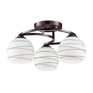 【大巨光】現代風3燈半吸頂燈-中(BM-20984)