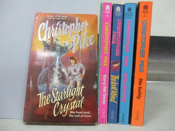 【書寶二手書T9/原文小說_MOV】Christopher Pike-Die Softly_Spellbound等_5本