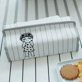 原創日式簡約創意家用車用客廳紙巾盒抽紙盒方形布藝大號餐巾紙盒 森活雜貨