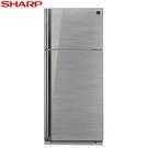 贈全家商品卡500元 SHARP 夏普 雙門541L一級能變頻電冰箱 SJ-GD54V-SL **含基本安裝+舊機回收**