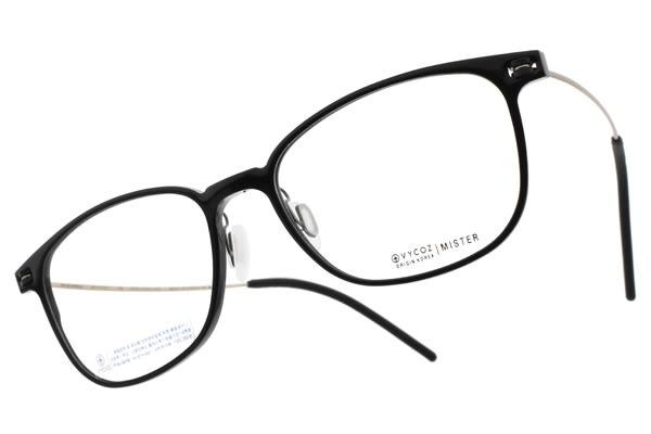 VYCOZ 光學眼鏡 MISTER BLK (黑-金) 植粹環保簡約鏡框 # 金橘眼鏡