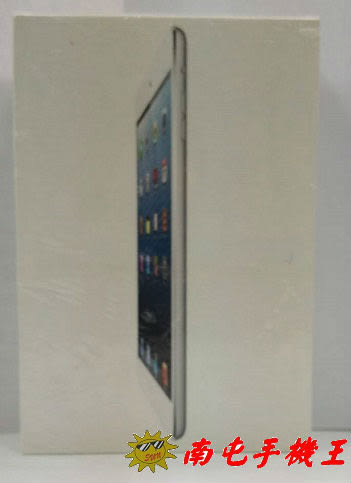=南屯手機王=X Apple iPad mini 32G Wi-Fi(MD544TA)白-出清商品 封膜有損壞 宅配免運費