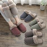 特賣毛毛拖鞋棉拖鞋女士秋冬季情侶家居家用保暖厚底防滑室內毛毛月子鞋冬天男
