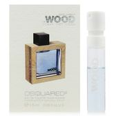 【收藏回味品】 DSQUARED² HE WOOD OCEAN WET WOOD 淡香水針管1.5ml,商品到期日2015.11