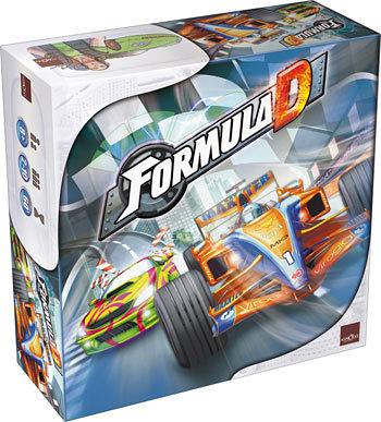『高雄龐奇桌遊』 方程式賽車 Formula D 英文版正版桌上遊戲專賣店