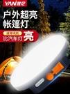 LED露營燈帳篷燈戶外照明燈充電掛燈超亮野營應急營地磁鐵便攜式 樂活生活館
