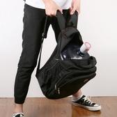 男雙肩包 雙肩包大容量商務電腦旅行背包休閑初高中學生書包男女士【快速出貨】