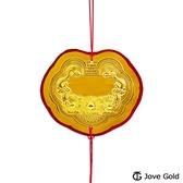 Jove Gold 漾金飾 謝神明金牌-黃金0.3錢