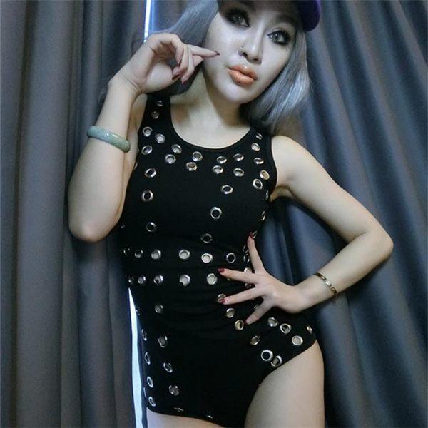 衣美姬♥火辣洞洞裝 麻豆拍攝服裝 性感 夜店 派對連體衣  熱舞服裝 鋼管服